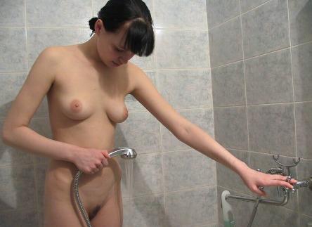 Nackte College Mädchen Dusche