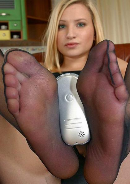 Nackte Frauen Füsse